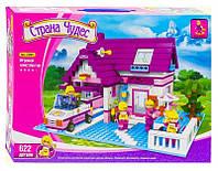 Конструктор Ausini Toys Страна чудес Загородный дом 622 деталей (2018093V-750)