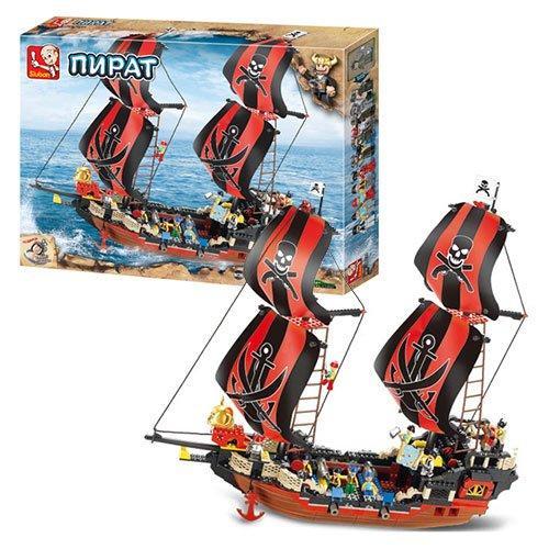Конструктор SLUBAN Пиратский корабль 632 детали (20181002V-638)