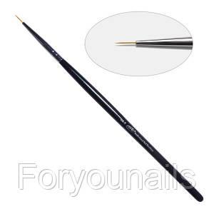 1D. Кисть для дизайна круглая 00-s Pnb, нейлон/Nail Art Brush round 00-s, nylon