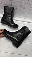 Зимние женские кожаные ботинки Maria. Харьков