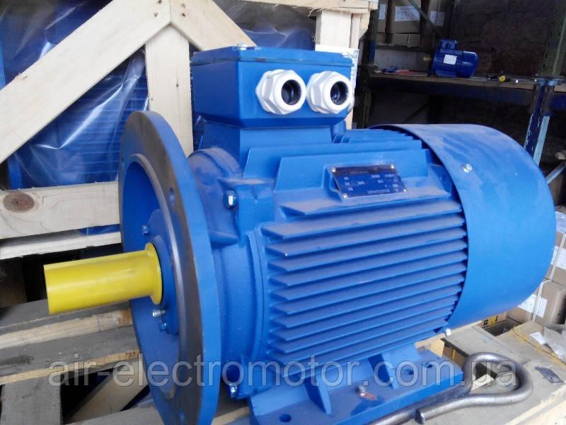 Электродвигатель АИР132М6 - 7,5кВт/ 1000 об/мин, фото 1