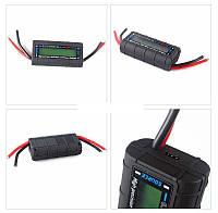 Цифровой мультиметр автомобильный постоянного тока, ваттметр электронный 130А