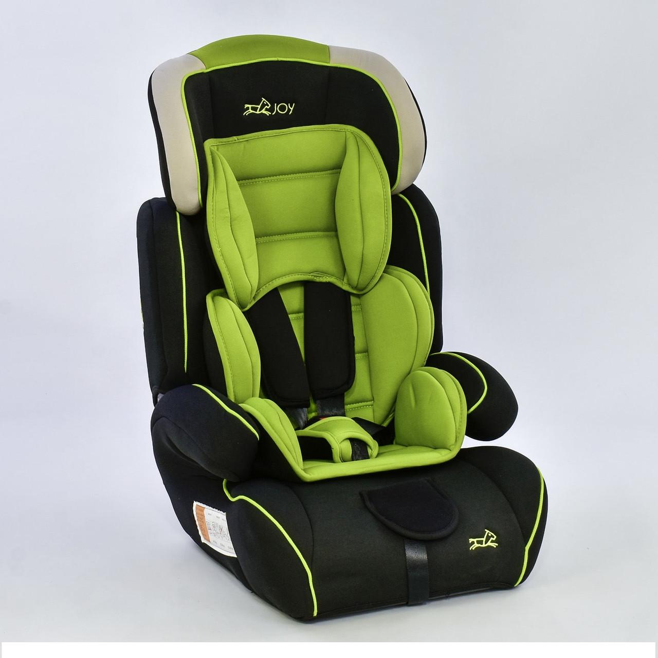 Автокрісло Joy 8888 універсальне зелене