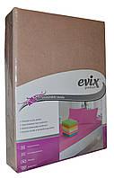 Premium простынь на резинке Бежевый цвет, фото 1