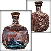 """Графин - бутылка """"Подарок для моряка"""" на день ВМФ Сувениры морской тематики"""