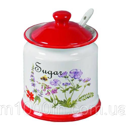 Сахарница керамическая Flora Maestro MR 20008-09