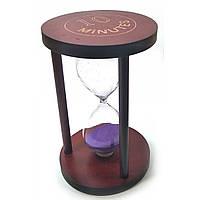 Песочные часы 10 минут фиолетовый песок 32071в