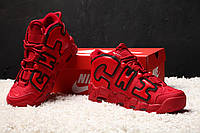 Мужские кроссовки Nike Air More Uptempo X Chicago Red, фото 1