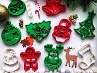 Рождественский набор, вырубки для теста 10 шт