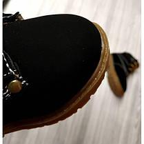 Ботинки детские на меху COMFY черные  зимние, фото 3