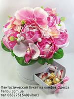 """Букет из конфет в  коробке """"Мисс Кетти""""№11+7, фото 1"""