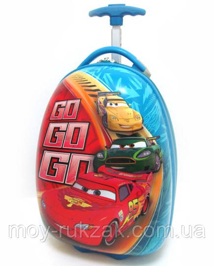 Детский чемодан на колесах Тачки, Cars-6