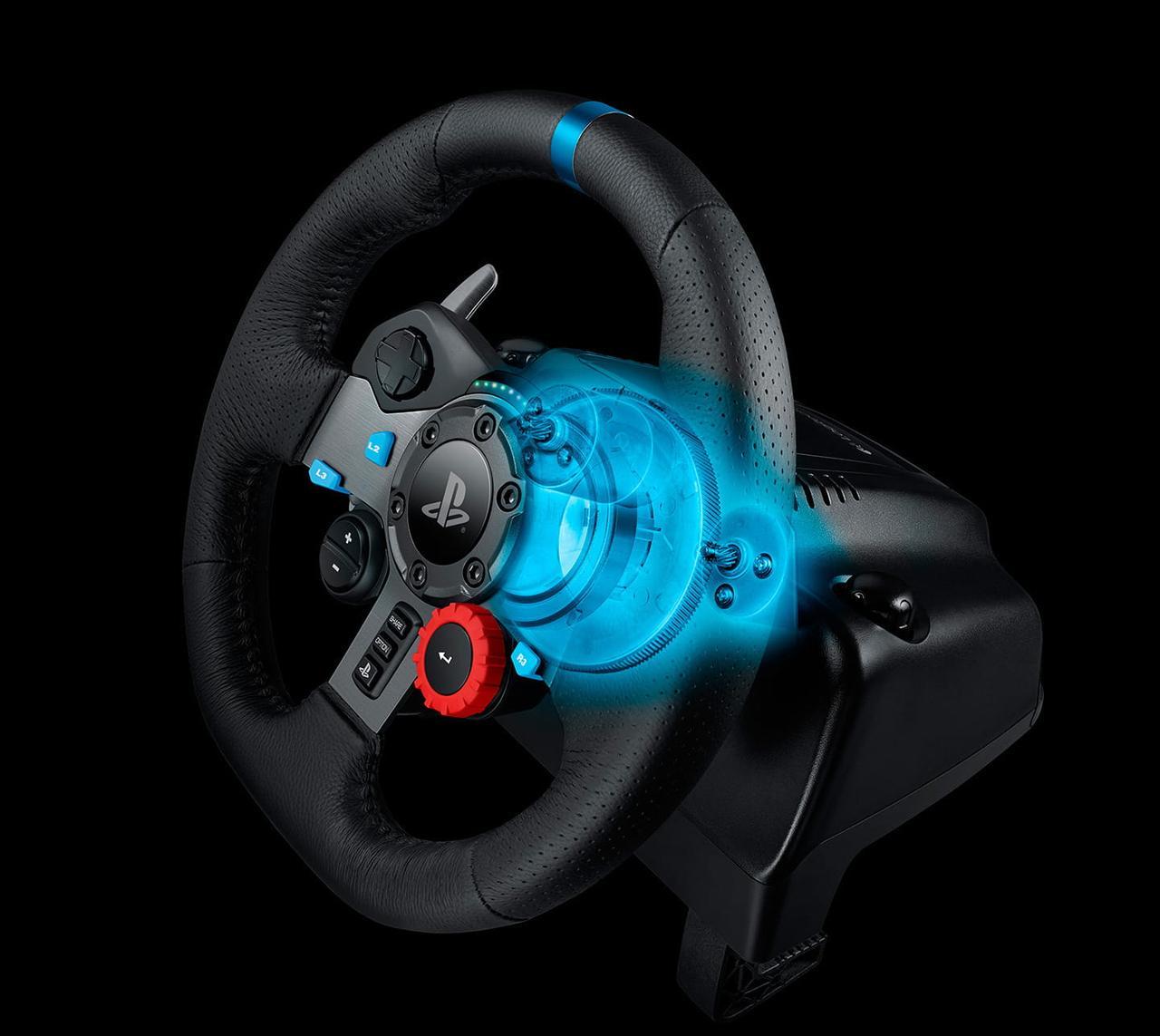 Игровой руль Logitech G29 Racing Wheel для ПК/PS3/4