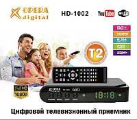 Тюнер Т2 OPERA DIGITAL HD-1002 DVB-T2, фото 1