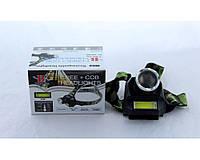 Налобный фонарик BL 6919B XPE /аккумуляторный фонарь на лоб