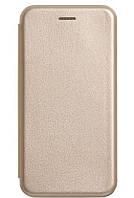 Чехол-книжка Luxo Leather Samsung A6 Plus 2018  (Gold)
