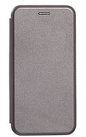 Чехол-книжка Luxo Leather Samsung A6 Plus 2018  (Grey)