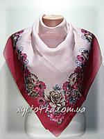 Кашемировые платки Алмира, пудра