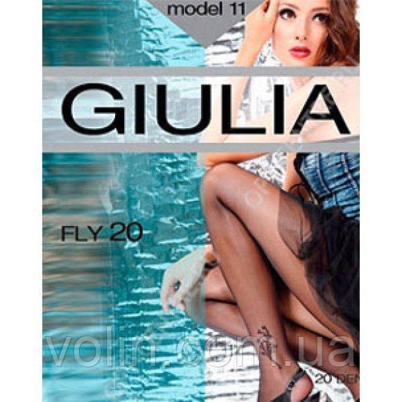 Колготки с рисунком Giulia Fly 20.