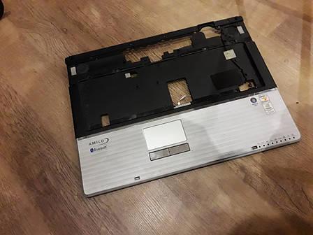 Крышка (тачпад) с колонками  Fujitsu Simens xa2528-22P оригинал б.у., фото 2