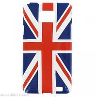 Чехол T'nB Clip on Cover для Samsung Galaxy S2 (i9100) Union Jack + защитная плёнка