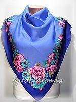 Кашемировые платки Алмира, голубой