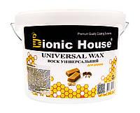 Натуральный пчелиный воск для дерева (Bionic House Universal Wax) 3 л