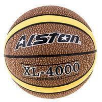 Мяч баскетбольный Alston №7, XL-4000 Official, коричневый с желтой полосой