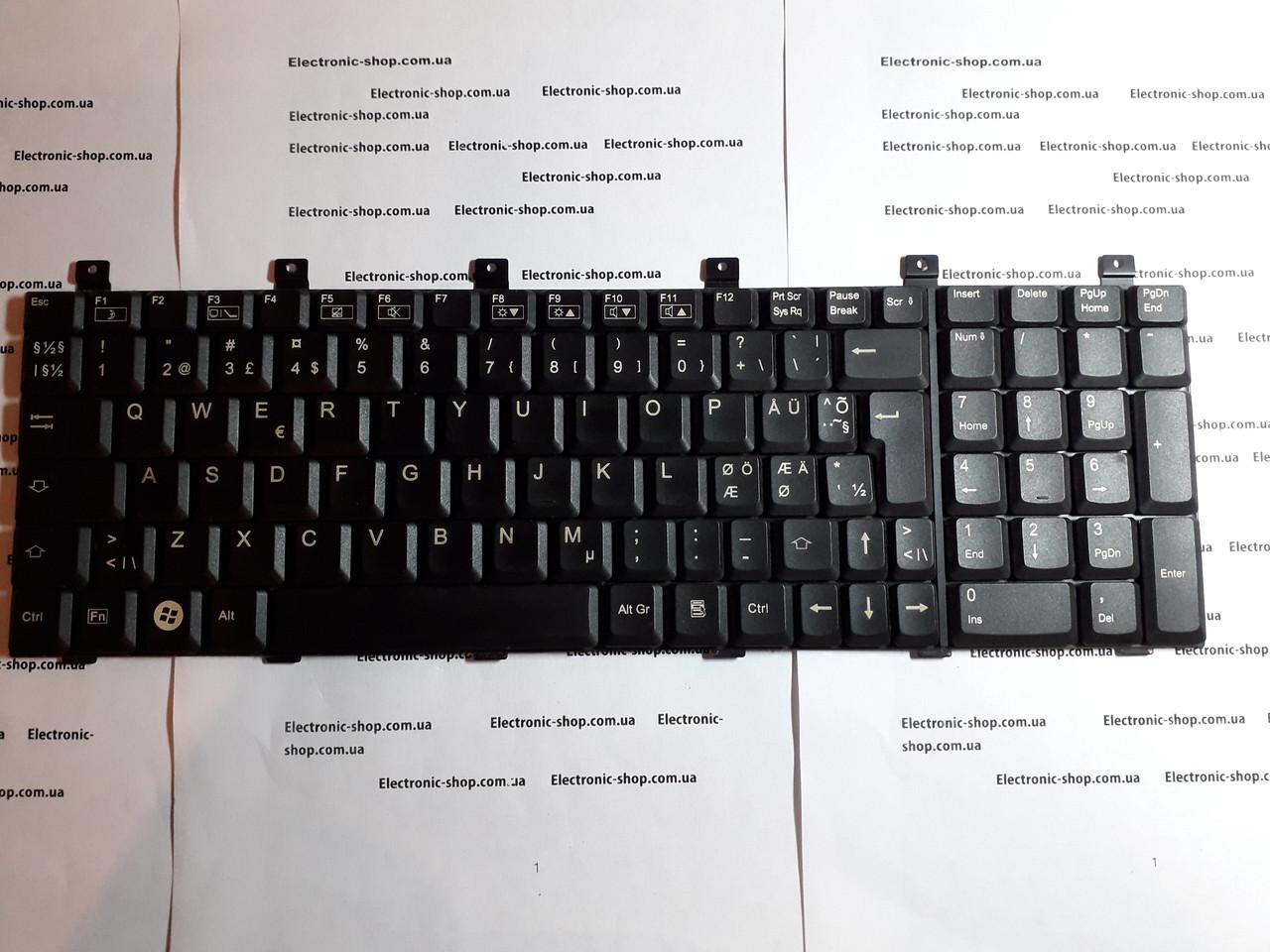 Клавіатура Fujitsu Simens xa2528-22P оригінал б.у.