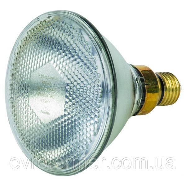 Інфрачервона лампа Farma PAR38 100W прозора