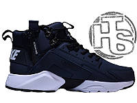 Мужские кроссовки Nike Air Huarache x ACRONYM City Winter Blue White (с  мехом) 25d0d254f89
