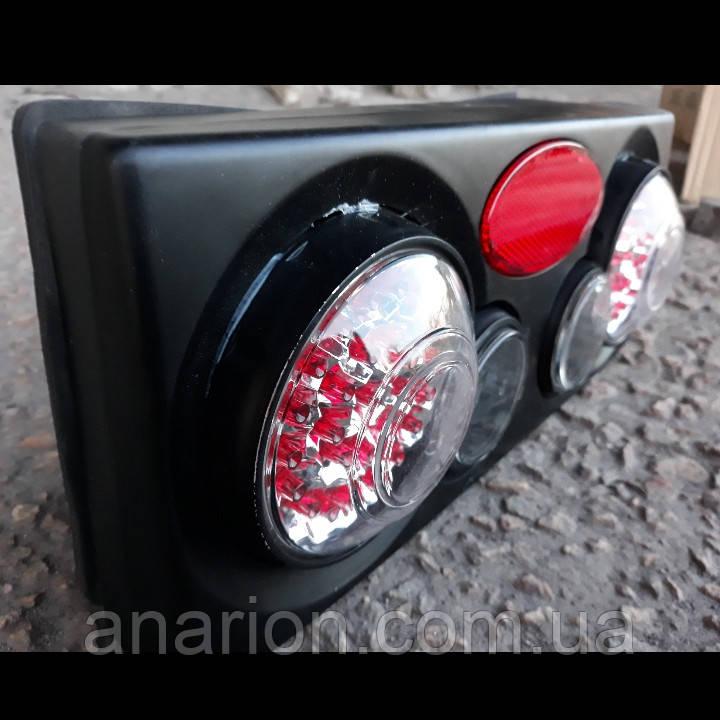 Задние стопы на ВАЗ 2109 стиль Camaro,3D (черные)
