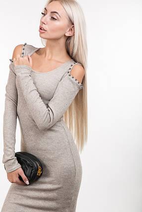 Платье 44810 (кофейный)  продажа 8d26621e9e44a