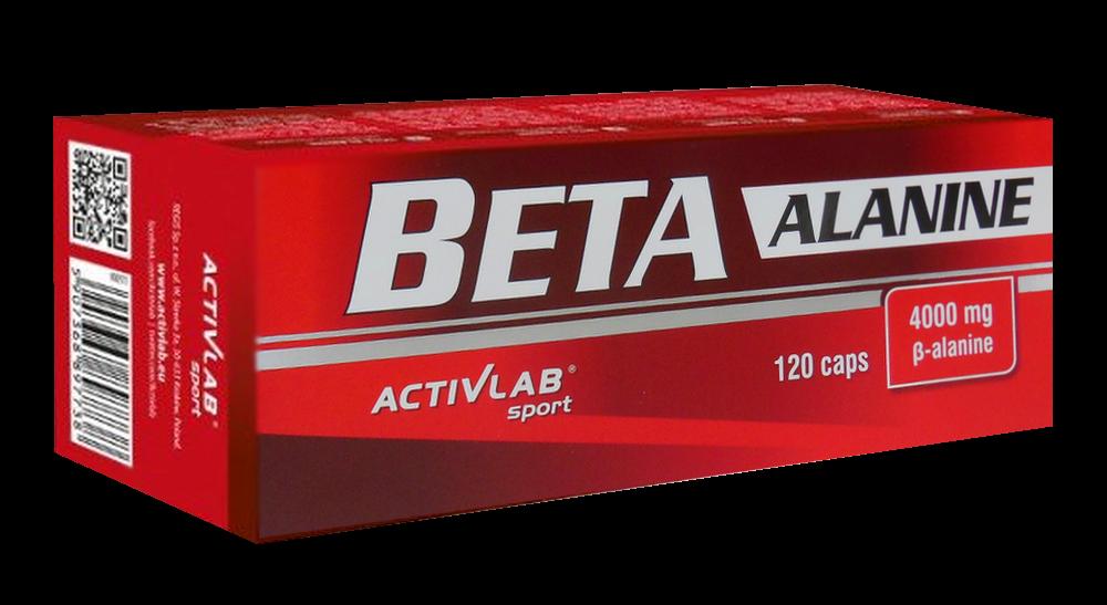 Бета Аланин Activlab Beta Alanine 120 caps