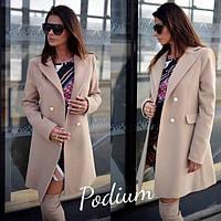 Женское стильное пальто на подкладке (4 цвета), фото 1
