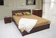 Кровать София 140 х 200 см (орех темный)