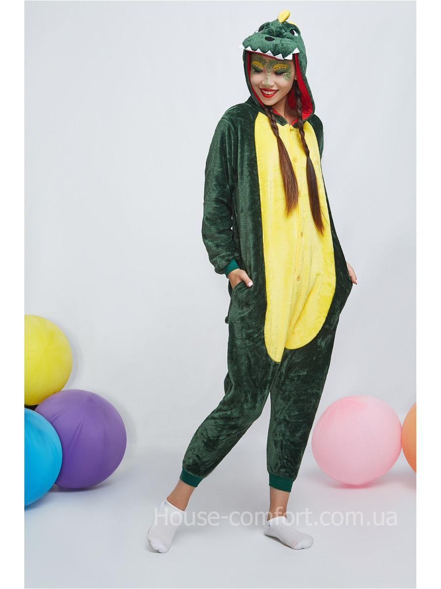Кигуруми пижама Дракон зеленый - Интернет магазин House Comfort в Харькове a43d12f973fac