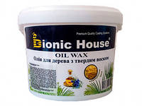 Масло для дерева с твердым воском (Bionic House Oil Wax) 10 л
