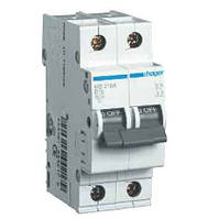 Автоматичний вимикач In=16А, 2п, С, 6 kA, 2м