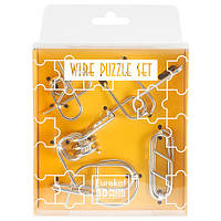 Головоломки Желтый Набор Wire Puzzle Set Yellow