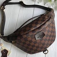 21dd48ad22dd Напоясная сумка-бананка Louis Vuitton Люкс, нагрудная сумка Луи Витон, сумка  от луи