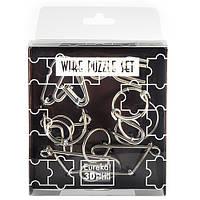 Головоломки Коричневый Набор Wire Puzzle Set Brown