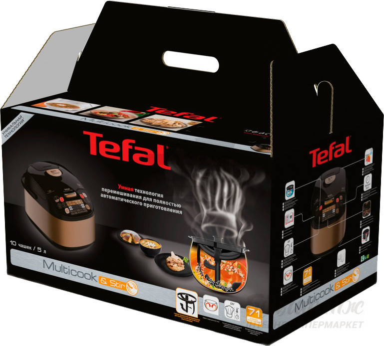 Мультиварка TEFAL MultiCook&Stir RK901F32
