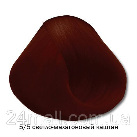 Vitality's Crema Color - Стойкая крем-краска 5/5 (светло-махагоновый каштан)