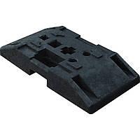 Резиновая подставка для пластикового панельного ограждения