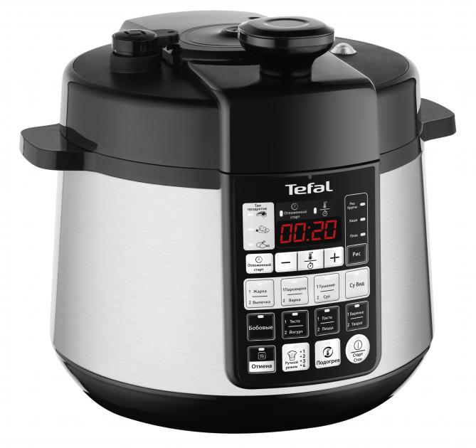 Мультиварка-скороварка TEFAL Advanced Pressure CY621D32
