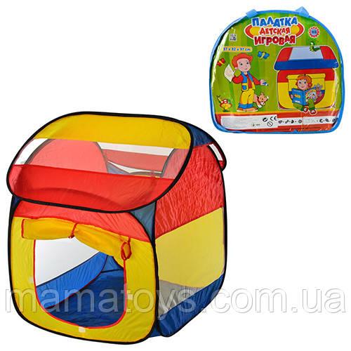 Детская Палатка M 0509 домик, 87х82х97 см в сумке