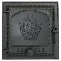 Дверца чугунная SVT 419 для печи и камина (415 х 380 мм)
