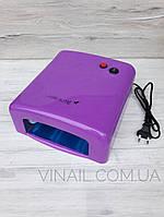 УФ лампа для ногтей 36W, цвет фиолетовый, фото 1
