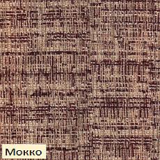 Чехол на диван 3-х местный натяжной Андреа Мокко Бежевый Горчичный, фото 3